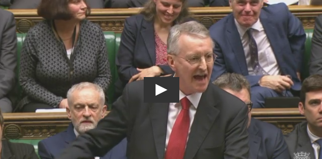 L'intervention de Hilary Benn