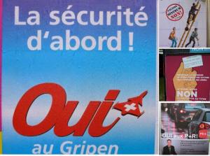 Les affiches de la votation du 18.05.2014